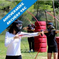 Anniversaire Archery Tag